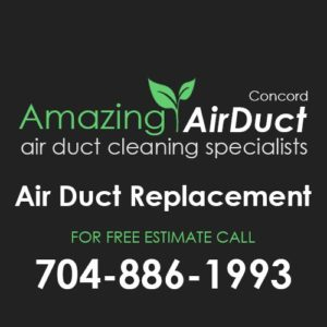 Air Duct Replacment Concord NC